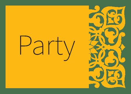 חתונה בקונספט מסיבה